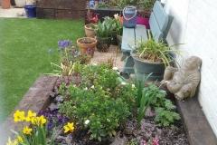 Juliette has been busy in her garden